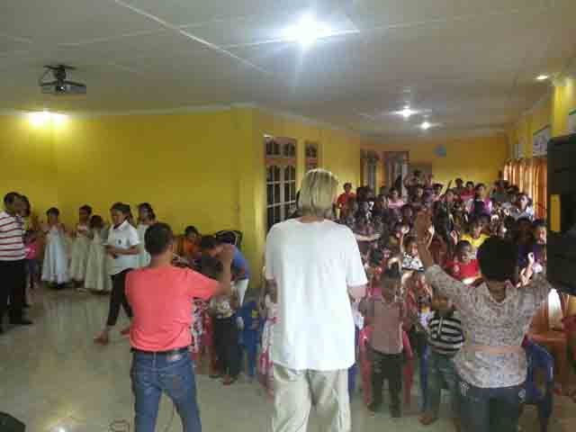 Doa Pengurapan untuk Ibadah Anak GDS Soe
