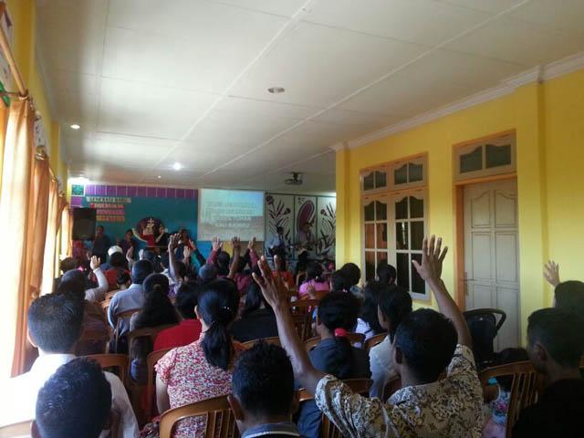 Ibadah minggu dilayani oleh Tim Misi GDS Jakarta dan CHC   Singapore – Firman Tuhan disampaikan oleh Ps. Andreas Skogvard