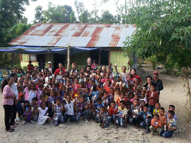 Kunjungan ke Pos Pelayanan GDS Soe1 di Oenlasi, Kabupaten   TTS, NTT